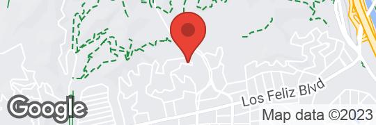2607 Glendower Ave Map Snapshot