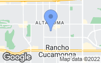 Map of Rancho Cucamonga, CA