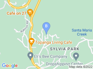 Map of Canyon Animal Care Dog Boarding options in Topanga | Boarding