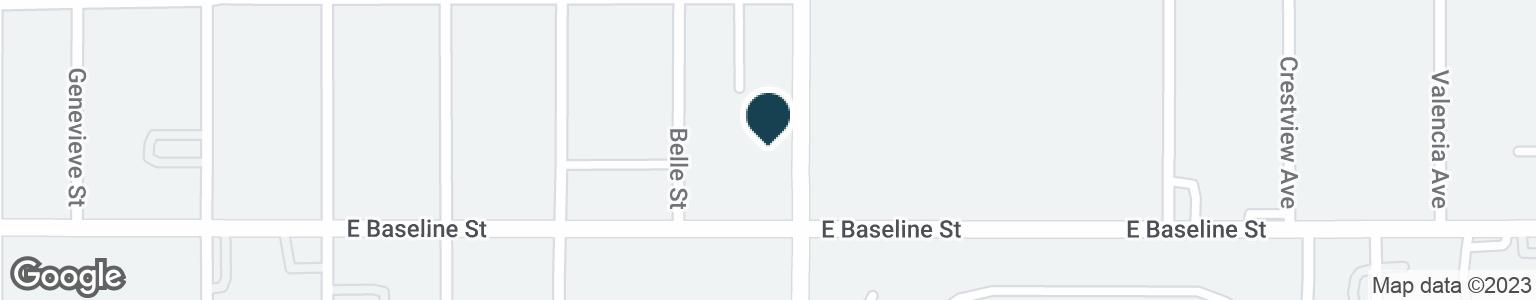 Google Map of1236 N WATERMAN AVE