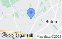 Map of Sugar Hill, GA