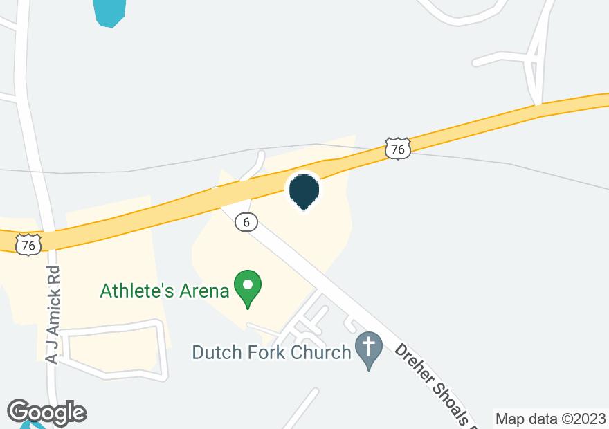 Google Map of1251 DUTCH FORK RD