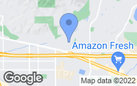 Map of La Verne, CA