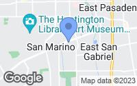 Map of San Marino, CA