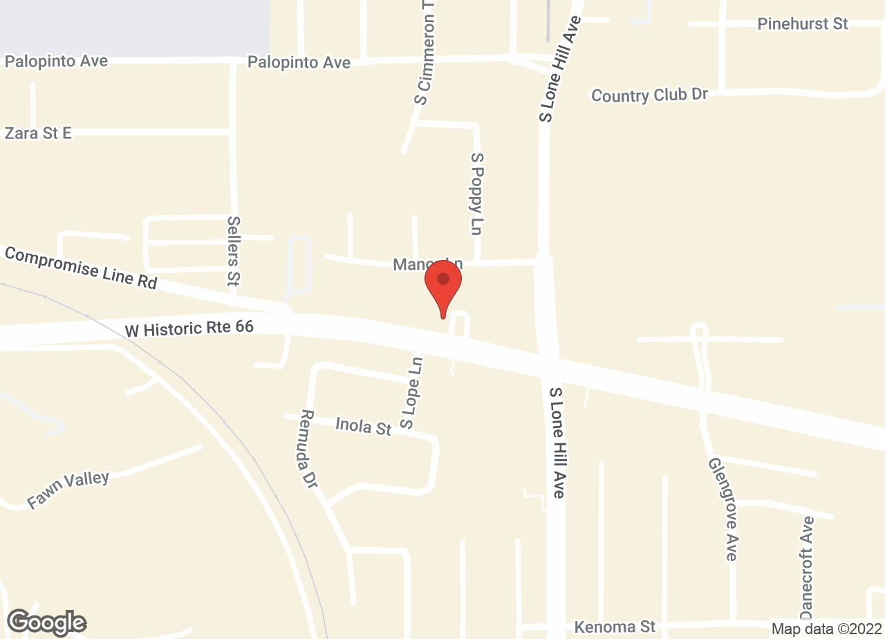 Google Map of VCA Alosta Animal Hospital