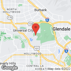 Hollywood Sign on the map