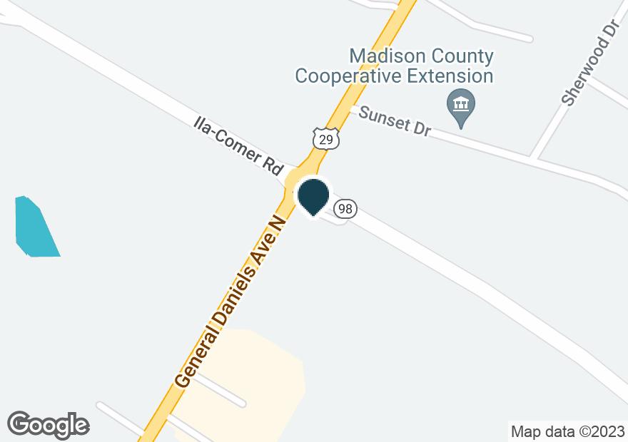 Google Map of380 GENERAL DANIEL AVE N