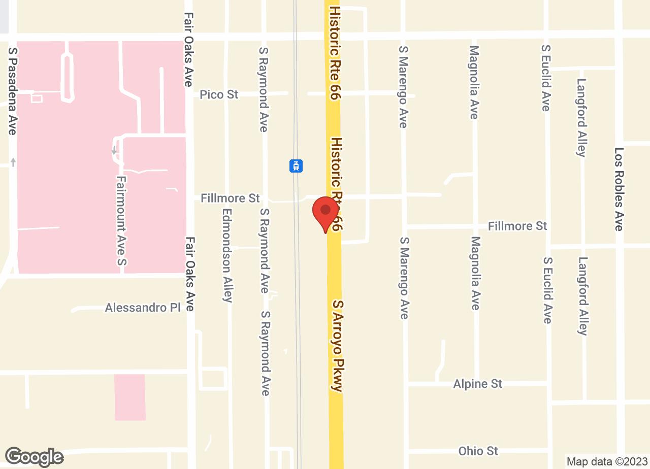 Google Map of VCA A Breed Apart Animal Hospital