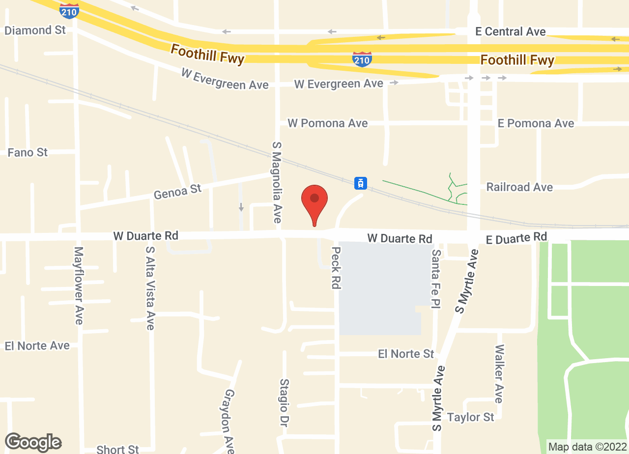 Google Map of VCA Santa Anita Animal Hospital