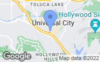 Map of Universal City, CA