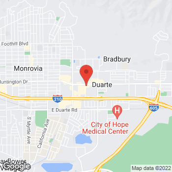 Map of Check `n Go at 1104 East Huntington Drive, Duarte, CA 91010