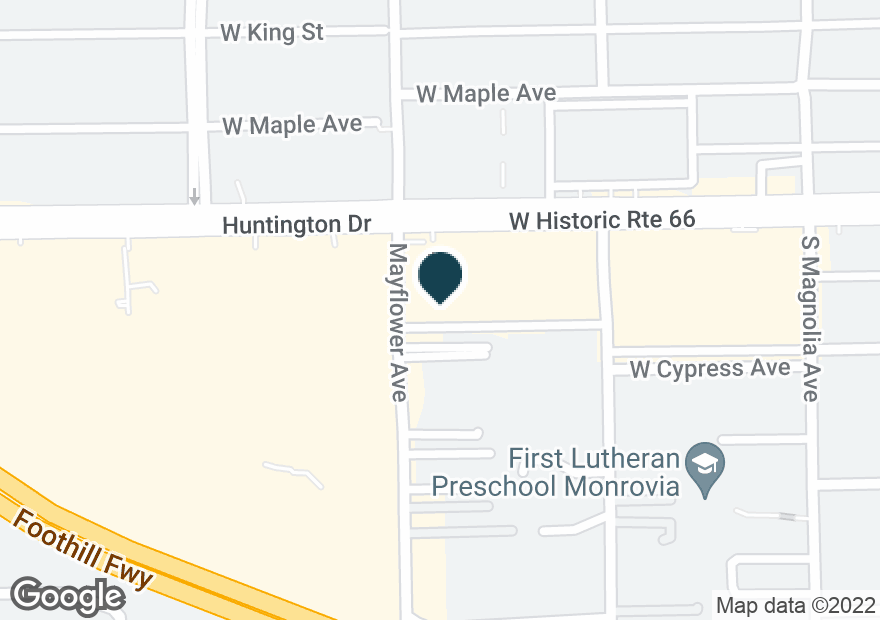 Google Map of490 W HUNTINGTON DR