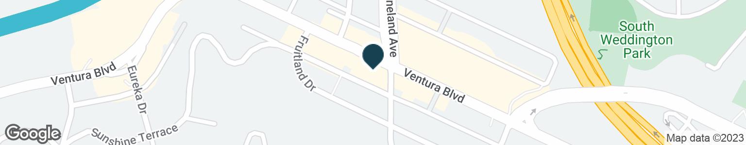 Google Map of11000 VENTURA BLVD