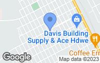 Map of Parker, AZ