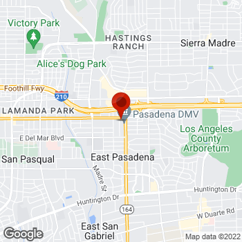 Map of Staples® Print & Marketing Services at 3660 Colorado Blvd., Pasadena, CA 91107