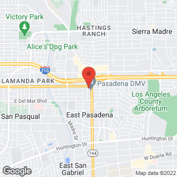 Map of Staples at 3660 Colorado Blvd., Pasadena, CA 91107