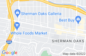 Sherman Oaks Mattress Store Location Map