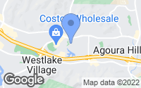 Map of Agoura Hills, CA