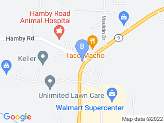 Map of A + Premium Pet Care Dog Boarding options in Alpharetta | Boarding