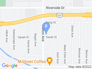 Map of Catmanda Dogwalker Dog Boarding options in Sherman Oaks | Boarding