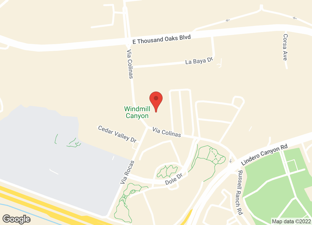Google Map of VCA Westlake Village Animal Hospital