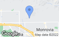 Map of Monrovia, CA