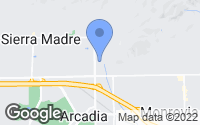 Map of Arcadia, CA