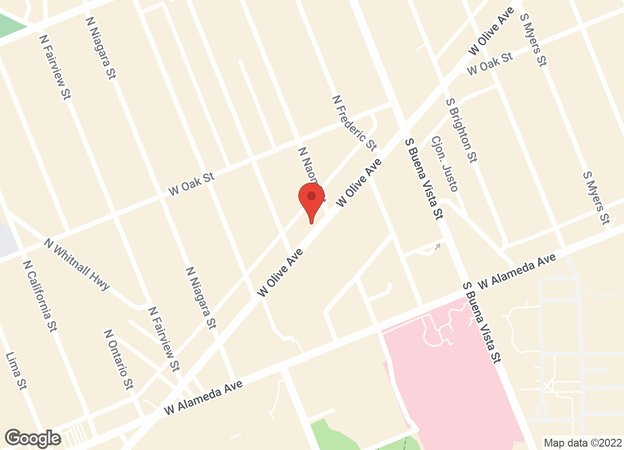 Google Map of VCA Animal Hospital (Burbank)