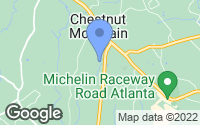 Map of Braselton, GA