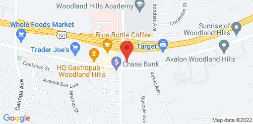 Directions to The Vegan Joint (Woodland Hills)