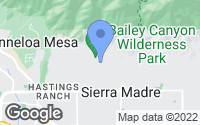 Map of Sierra Madre, CA