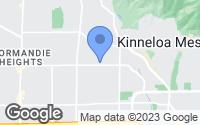 Map of Pasadena, CA