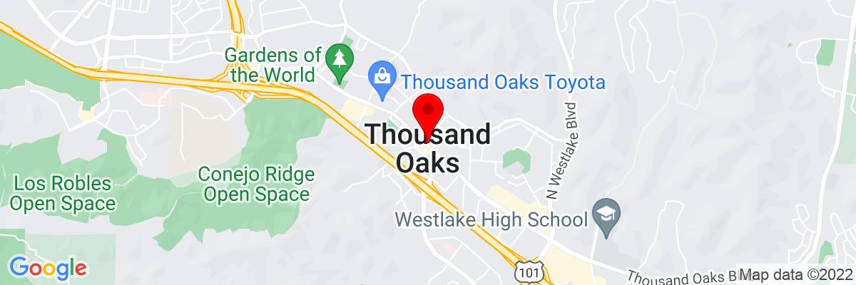 Google Map of 34.170560833333,-118.83759361111