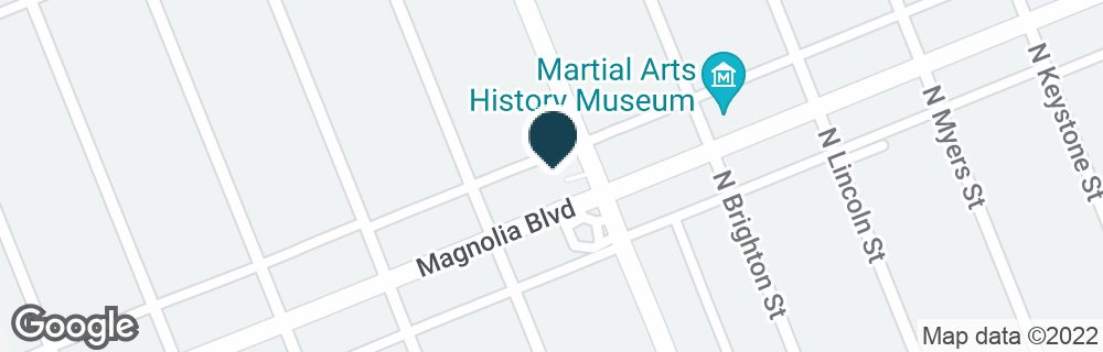 Google Map of2501 W MAGNOLIA BLVD