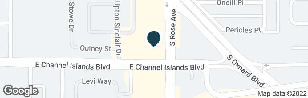 Google Map of2851 S ROSE AVE