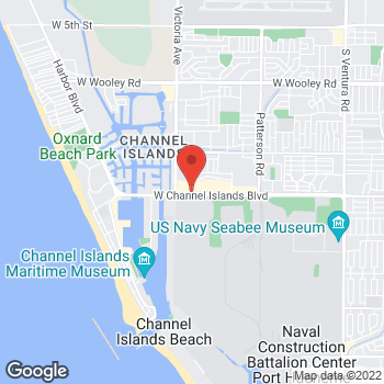 Map of Check `n Go at 709 Channel Island Blvd, Port Hueneme, CA 93041