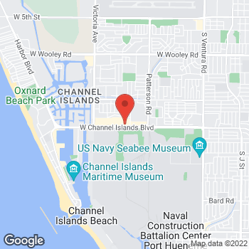 Map of Taco Bell at 559 W Channel Islands Blvd, Port Hueneme, CA 93041