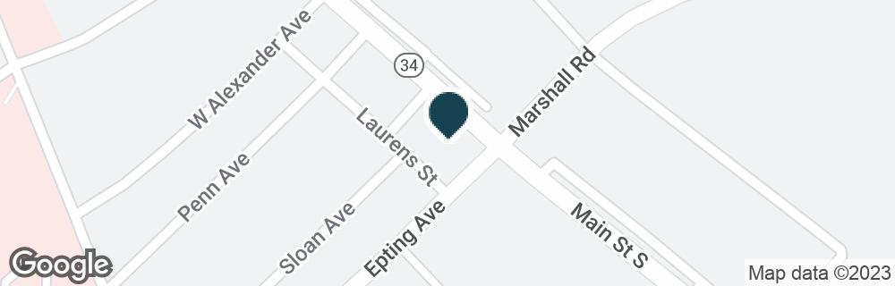 Google Map of1376 MAIN ST S