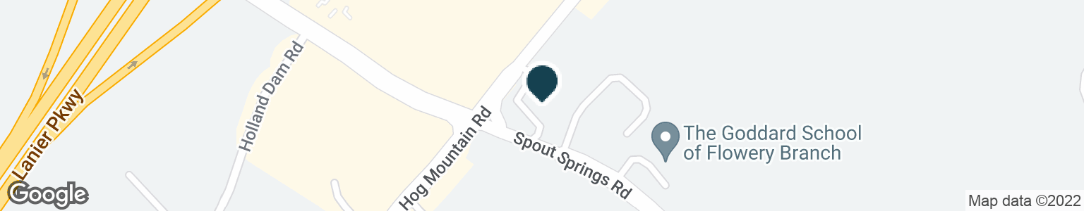 Google Map of5963 SPOUT SPRINGS RD
