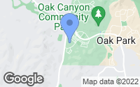 Map of Oak Park, CA