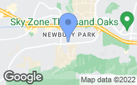 Map of Thousand Oaks, CA