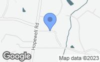 Map of Milton, GA