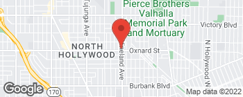Mapa de 6005 Vineland Ave en North Hollywood