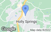 Map of Holly Springs, GA