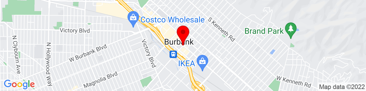 Google Map of 34.18083333333333, -118.30888888888889