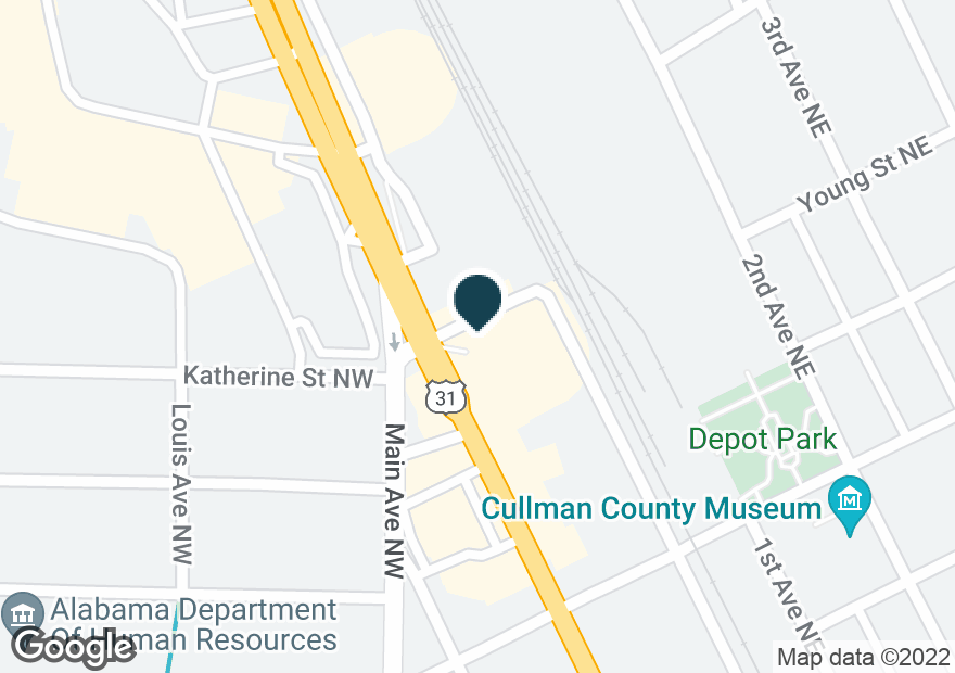 Google Map of444 2ND AVE NW