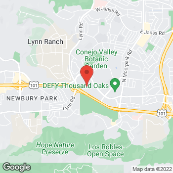 Map of Michael Kors at 344 W Hillcrest Drive, Thousand Oaks, CA 91360