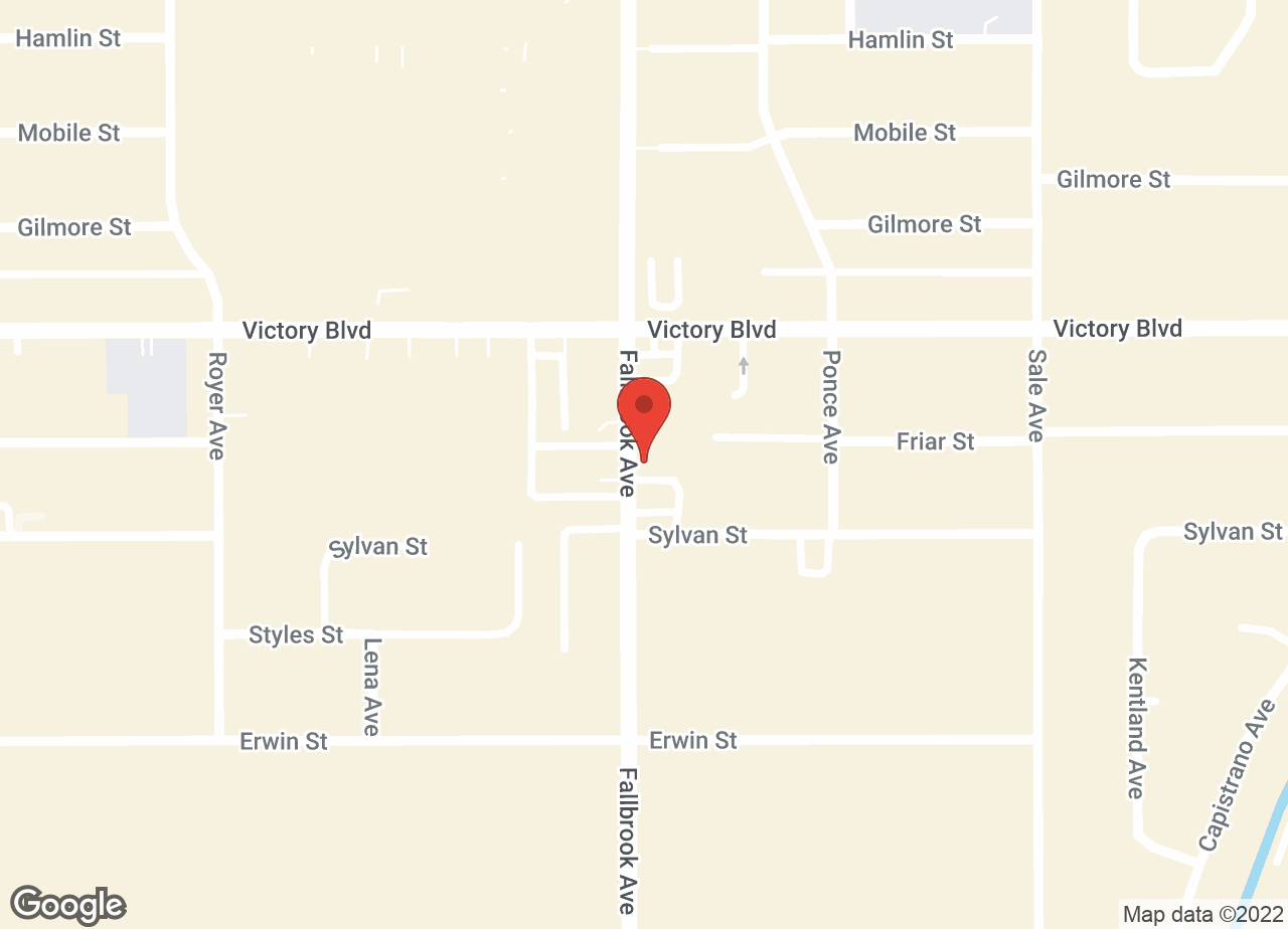 Google Map of VCA Parkwood Animal Hospital