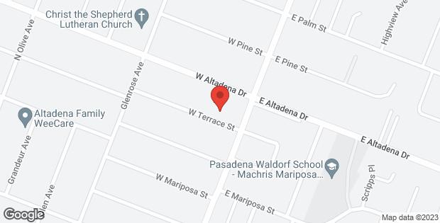 El Sereno Avenue Altadena CA 91001