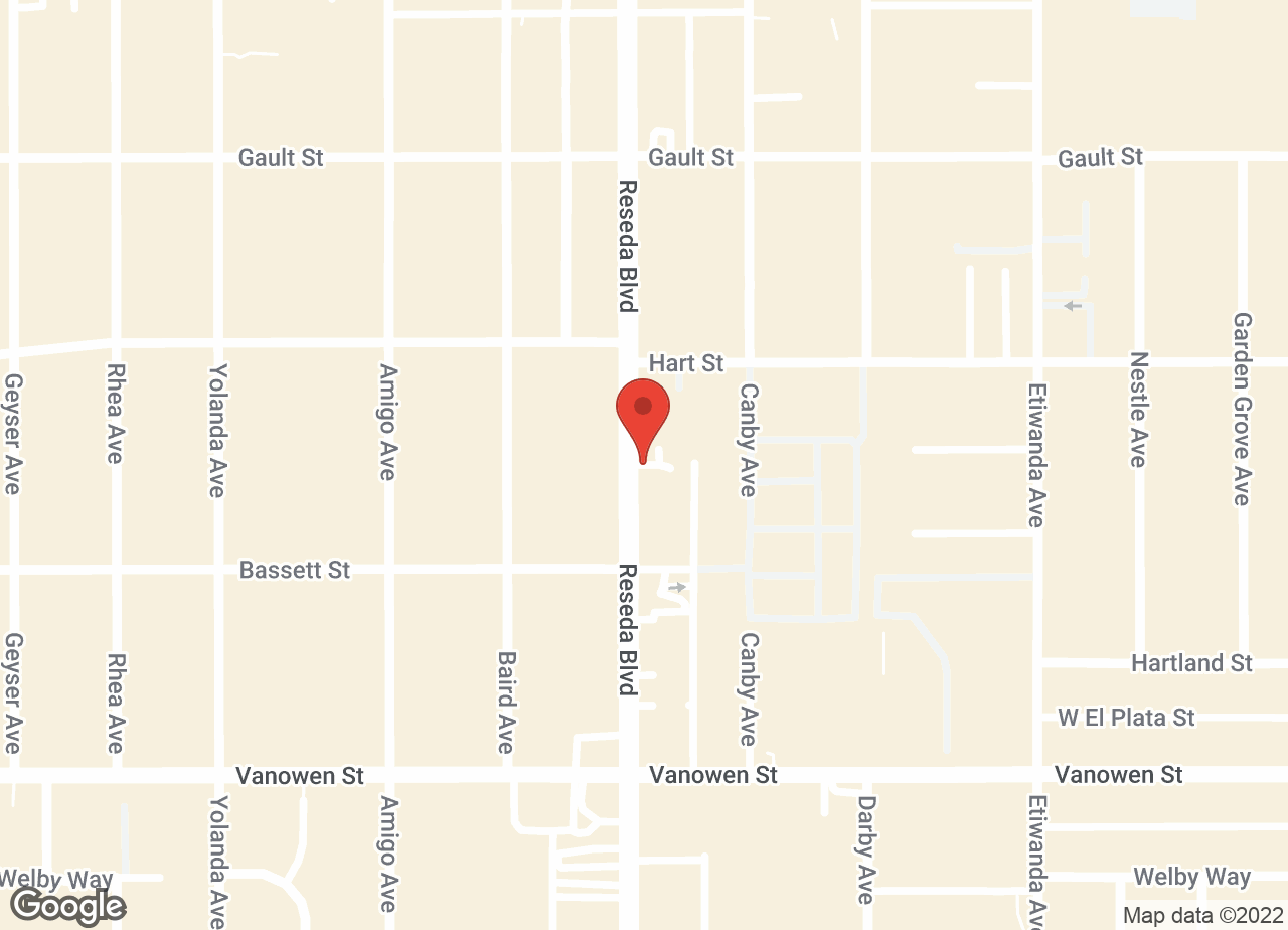 Google Map of VCA McClave Animal Hospital